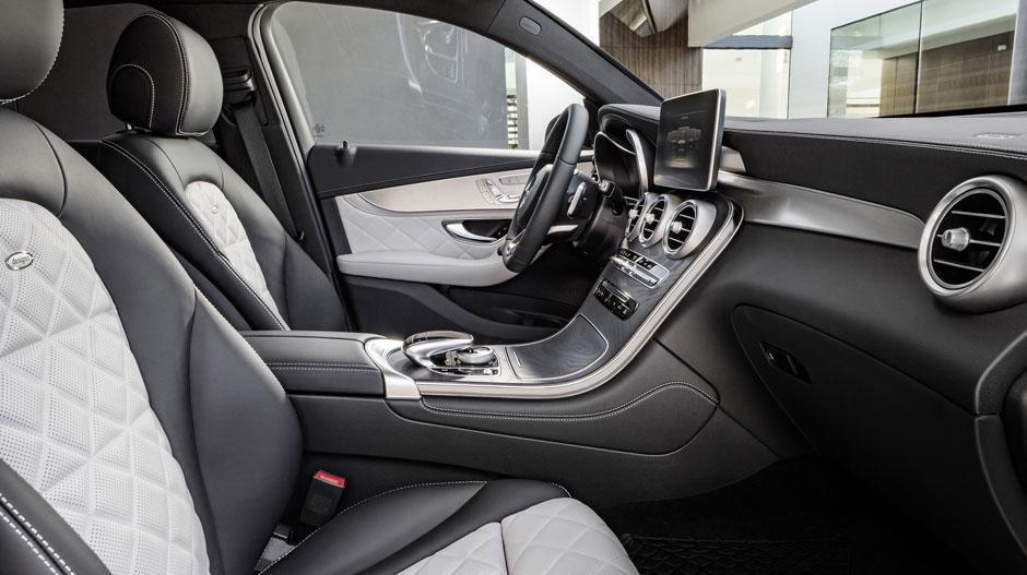 2017 GLC Coupe Interior