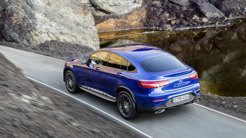 2017 GLC Coupe Driving