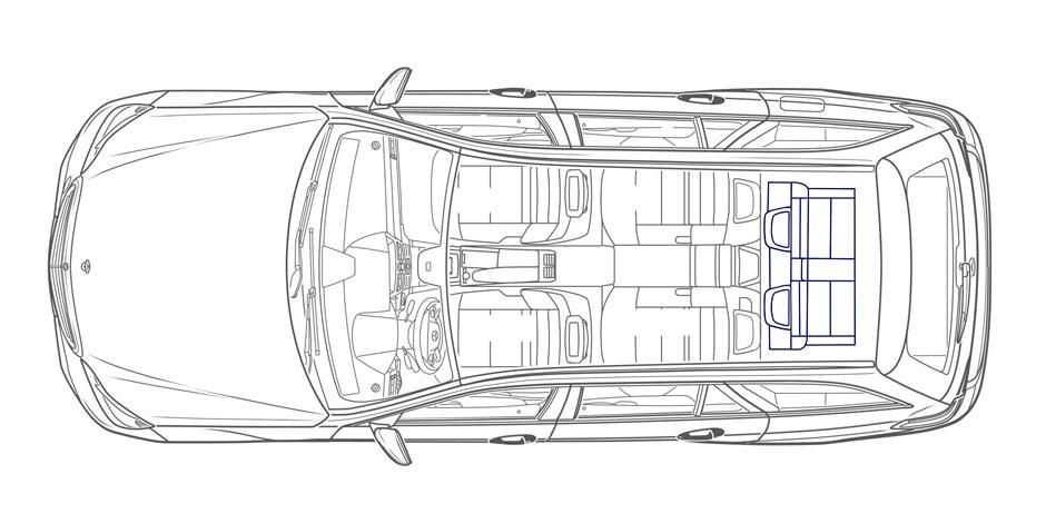 E-Class Wagon Space
