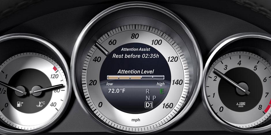 E-Class Wagon Speedometer