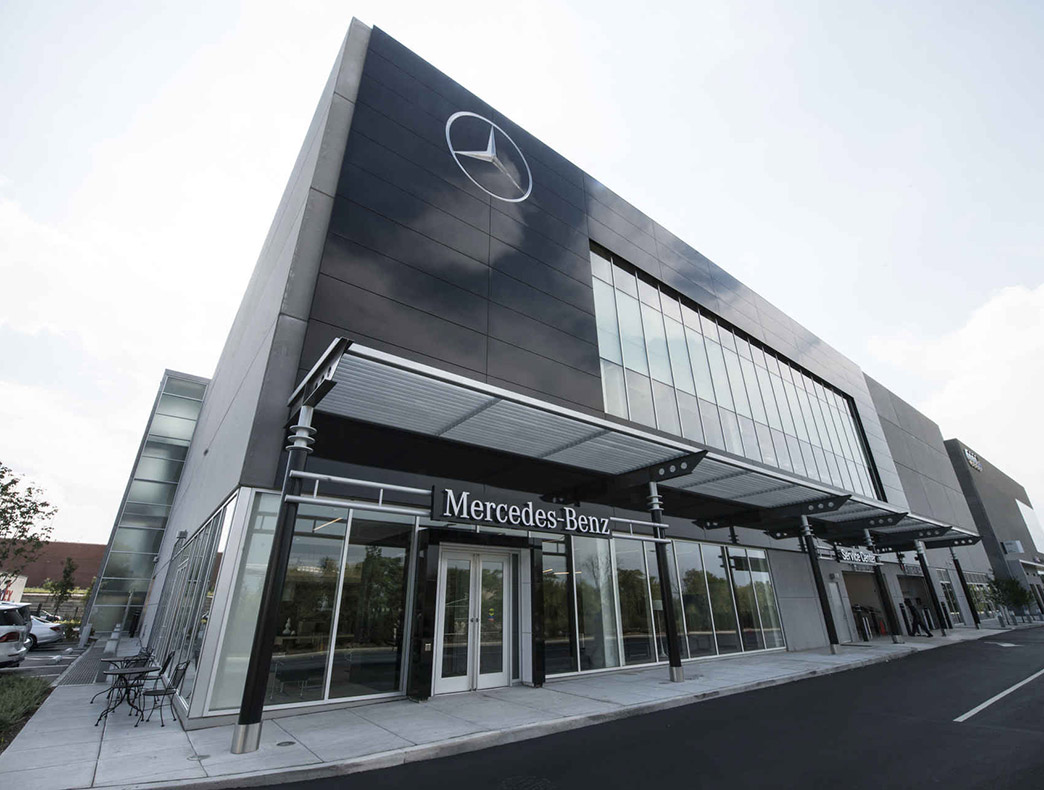 100 mercedes headquarters see development area