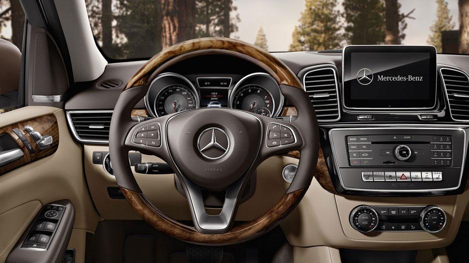 GLE 350 interior