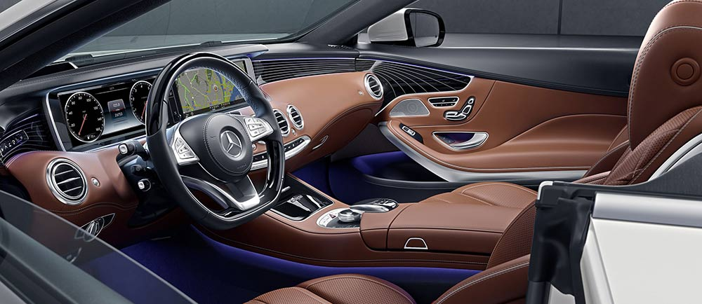 Glimpse The Rarified Interior Of The 2017 Mercedes Benz S 550 Sedan