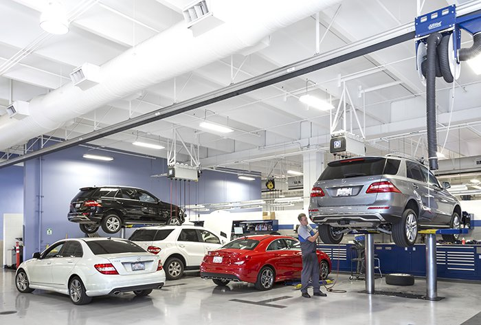 Service a mercedes explained mercedes benz of ontario for Mercedes benz of ontario ca