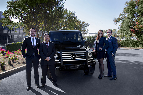 Business development team at mercedes benz of ontario for Mercedes benz of ontario ca