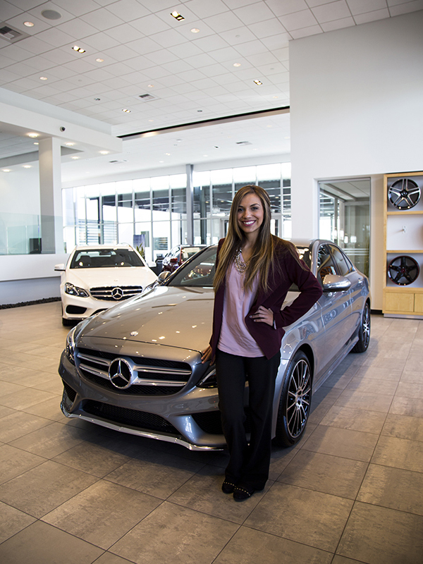 Cynthia 39 s journey with the fletcher jones family for Fletcher mercedes benz