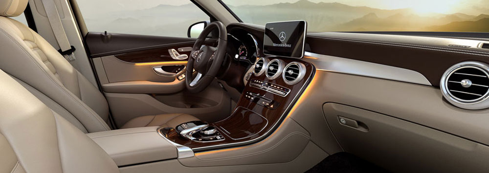 but their high end well equipped cabins and none moreso than the 2016 mercedes benz glc and its incredibly elegant and high tech interior