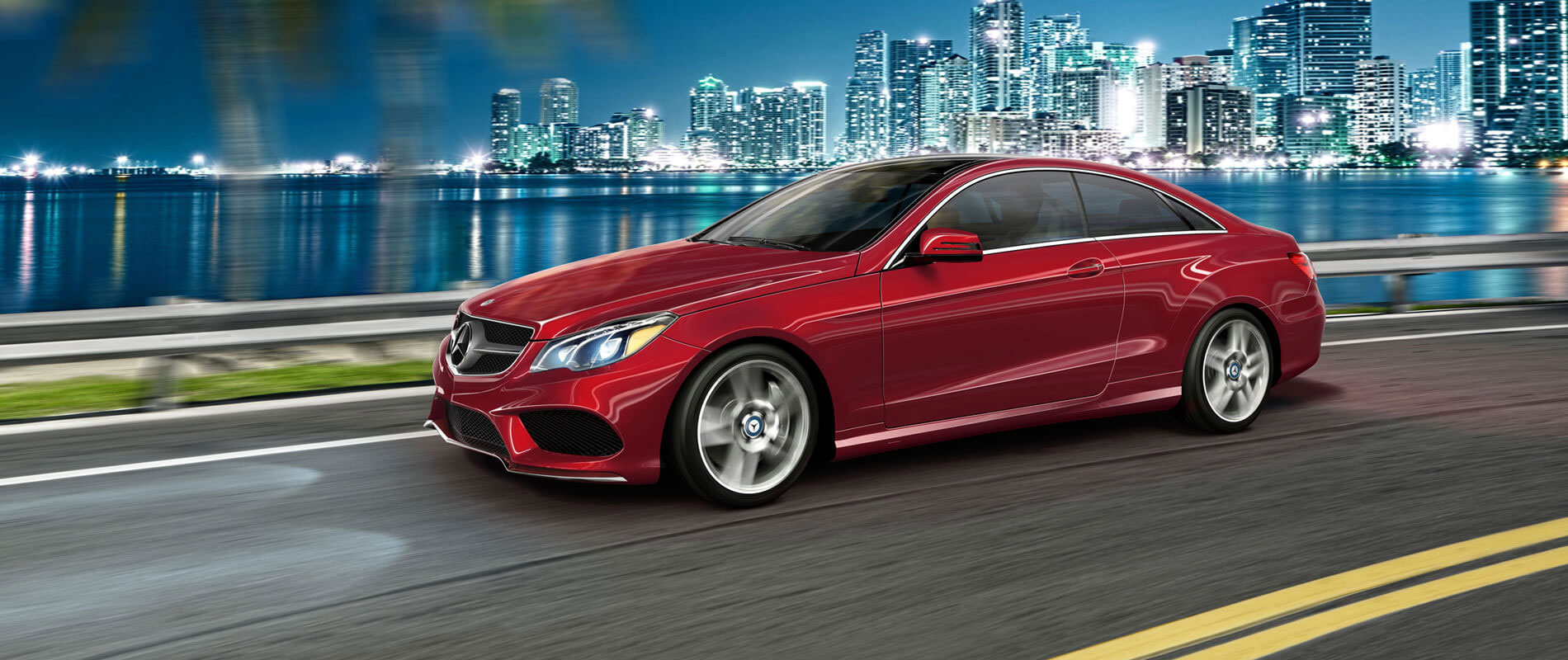 The new 2017 mercedes benz e550 coupe at a glance for Jack ingram mercedes benz
