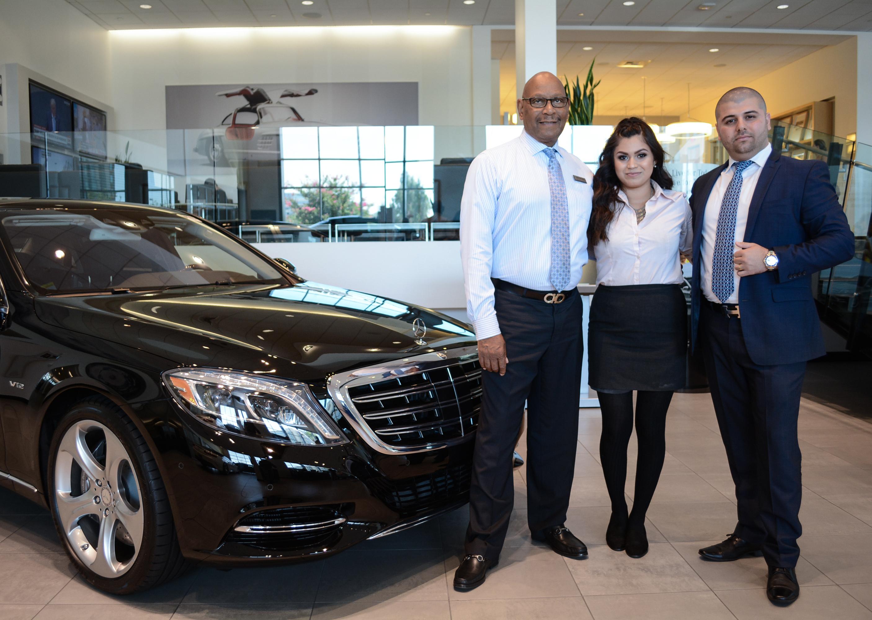 Employee anniversaries mercedes benz of ontario for Mercedes benz employee