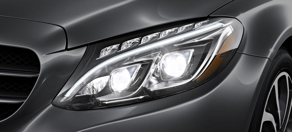 C300 Headlight