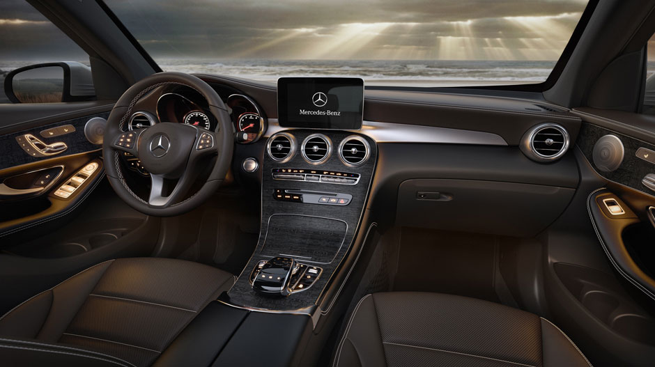 GLC 300 Interior