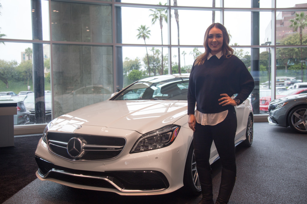 January employee spotlight cecilia beas mercedes benz for Mercedes benz of ontario ca