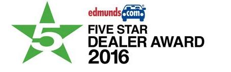 Edmunds Five Star Dealer Award
