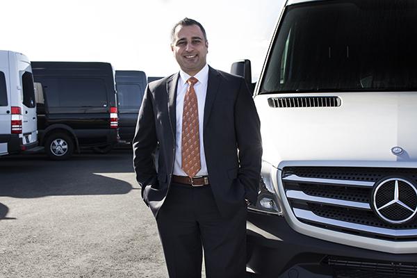 Sprinter Sales Director, Edwin Sarhad