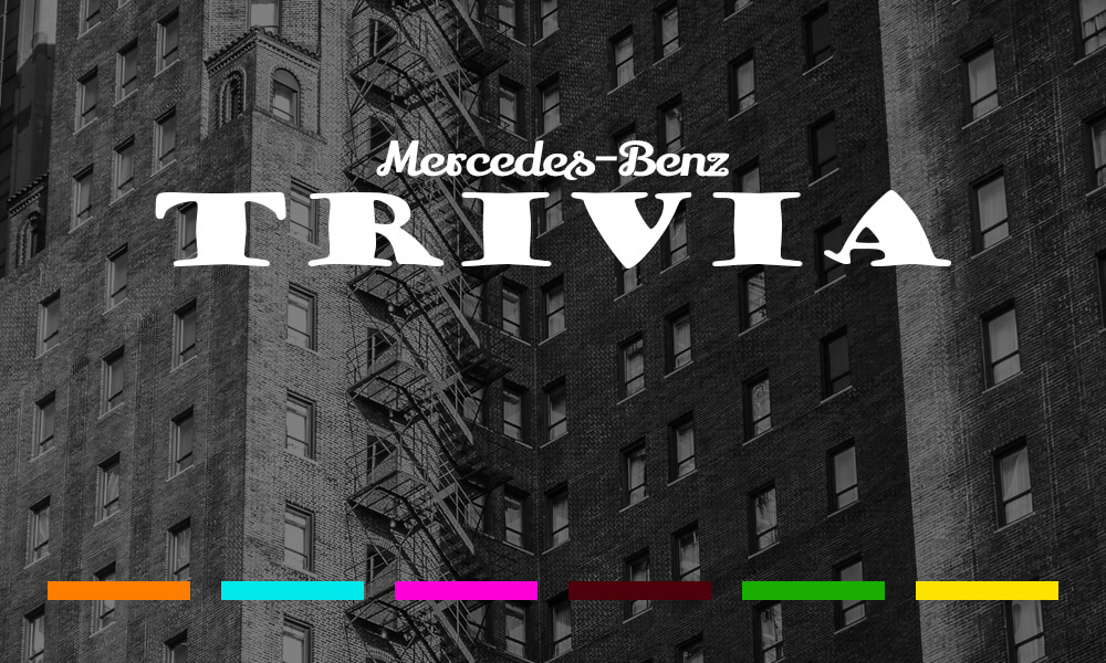 Mercedes-Benz of Temecula Trivia Contest