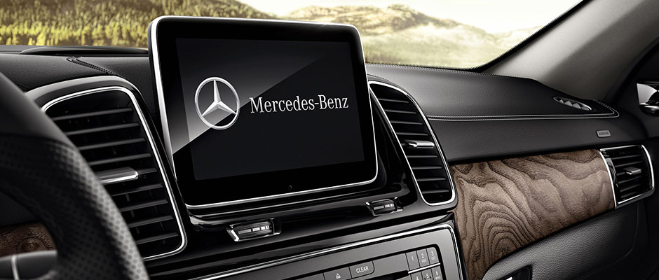 mercedes-benz infotainment provides a premium driving experience