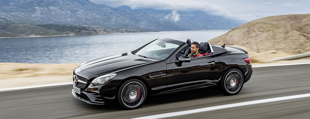 The Mercedes Benz Convertibles Exemplify Carefree Cruising