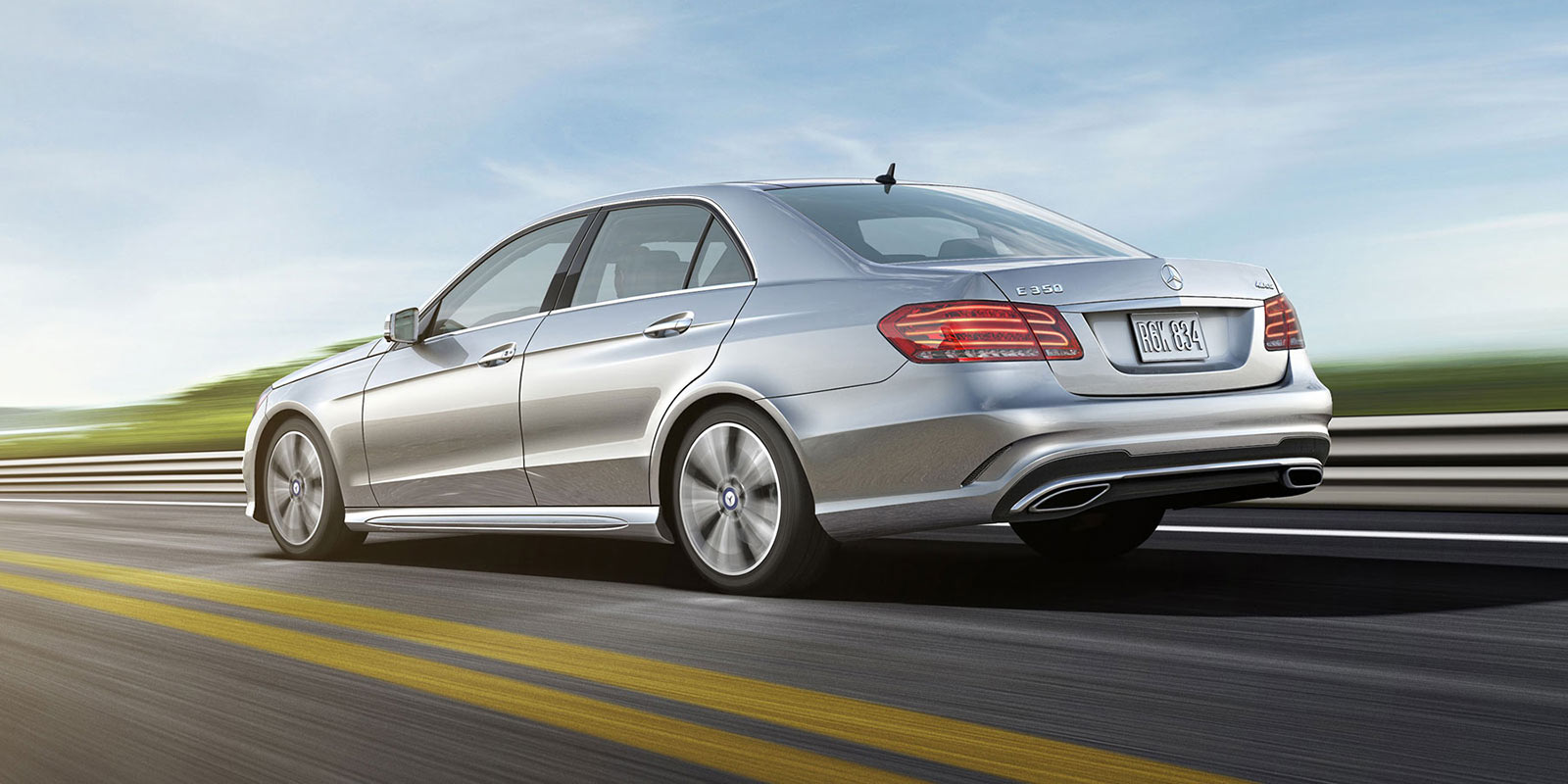 The mercedes benz e350 4matic sedan takes control of any road for E 350 mercedes benz