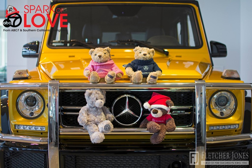 G-Class Front view with Stuffed Animals