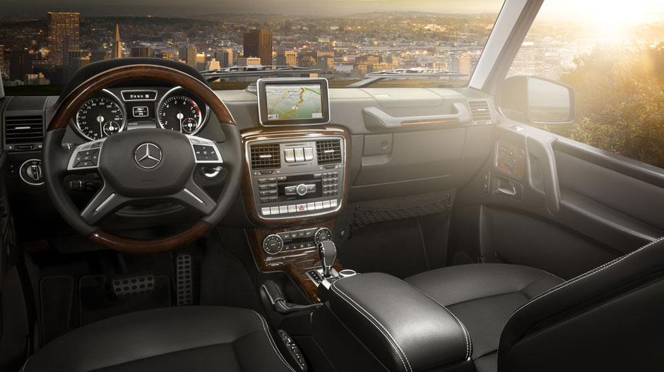 G 550 Interior