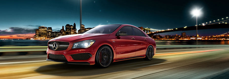 2015 Mercedes Benz CLA45 Coupe