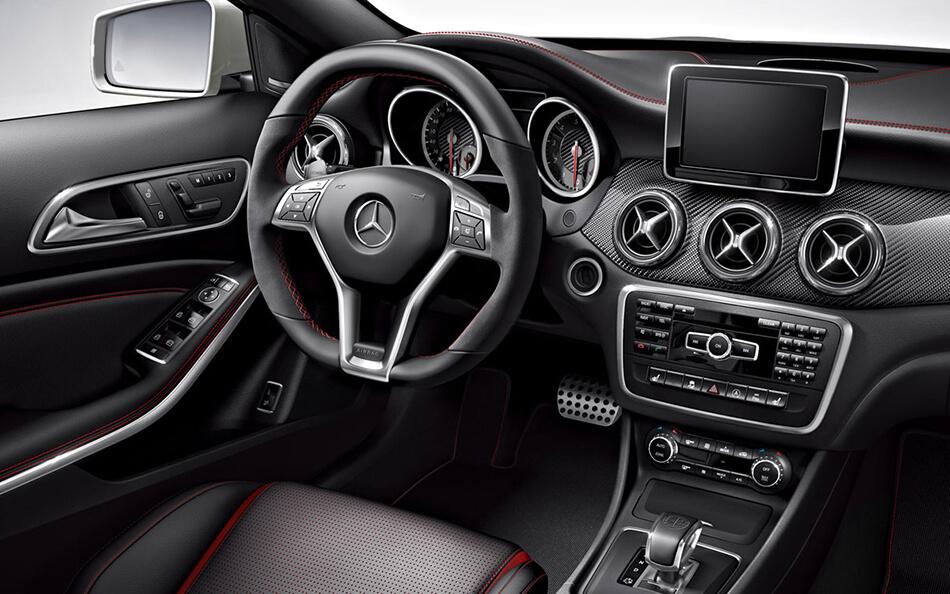 Step Inside the 2018 Mercedes-AMG® GLA 45 SUV