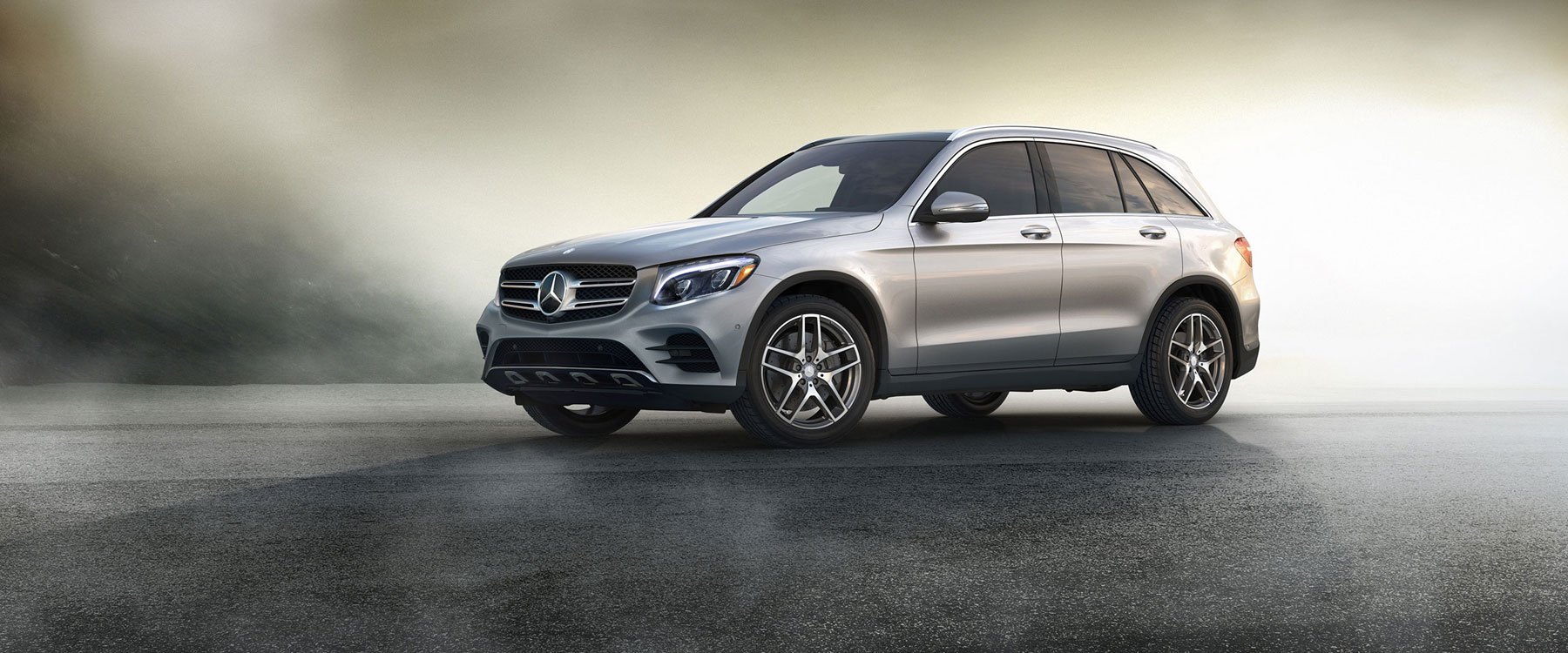 The rugged yet luxe 2017 mercedes benz glc 300 suv for Mercedes benz excess mileage charges