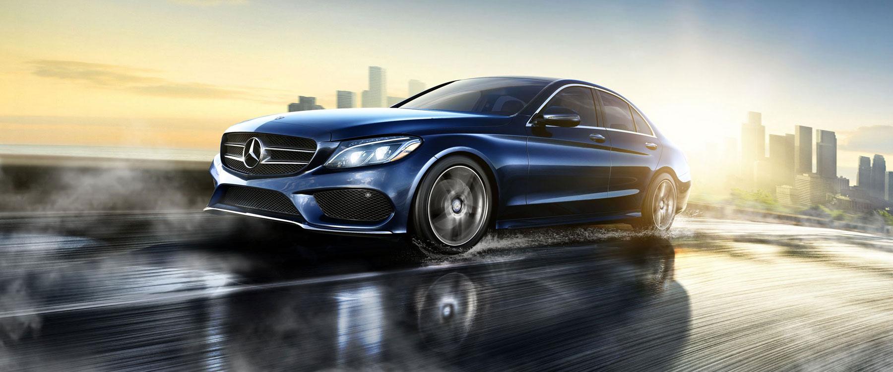 The lavish yet practical 2017 mercedes benz c 300 sedan for Mercedes benz lease return