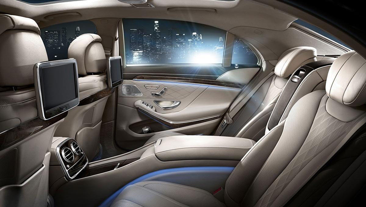 S 600 Interior