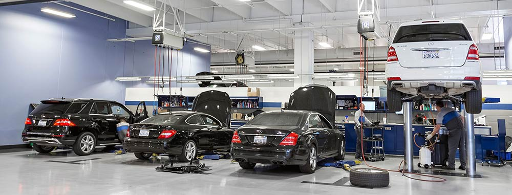 Get reliable mercedes benz brake inspection service in fremont for Mercedes benz maintenance schedule