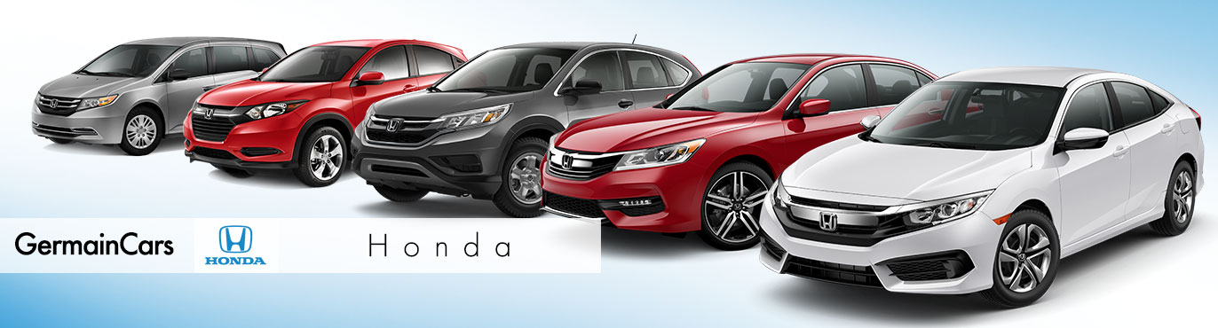Honda Model Line Up At Germain Ann Arbor