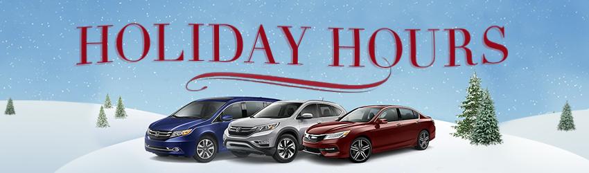 Germain Honda Holiday Hours