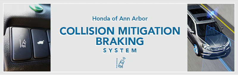 honda collision mitigation braking system information honda of ann arbor. Black Bedroom Furniture Sets. Home Design Ideas