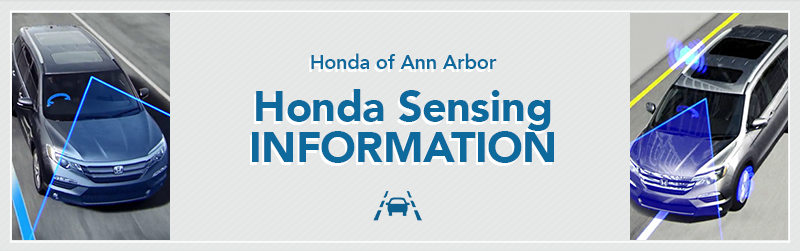 Honda Sensing Information