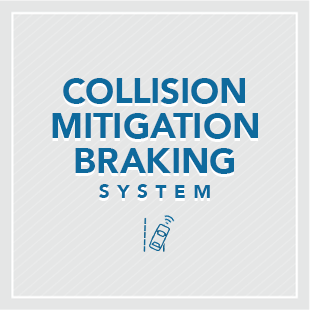 Honda Sensing's Collision Mitigation Braking System