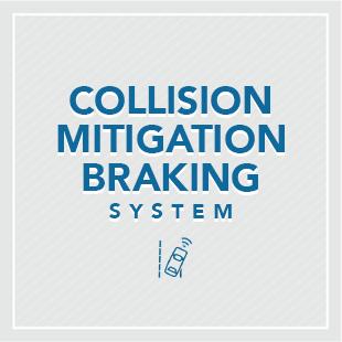 Honda Sensing's Collision Mitigation Braking System