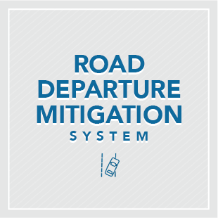 Honda Sensing's Road Departure Mitigation System