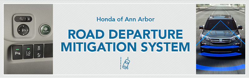 Road Departure Mitigation Information from Germain Honda of Ann Arbor