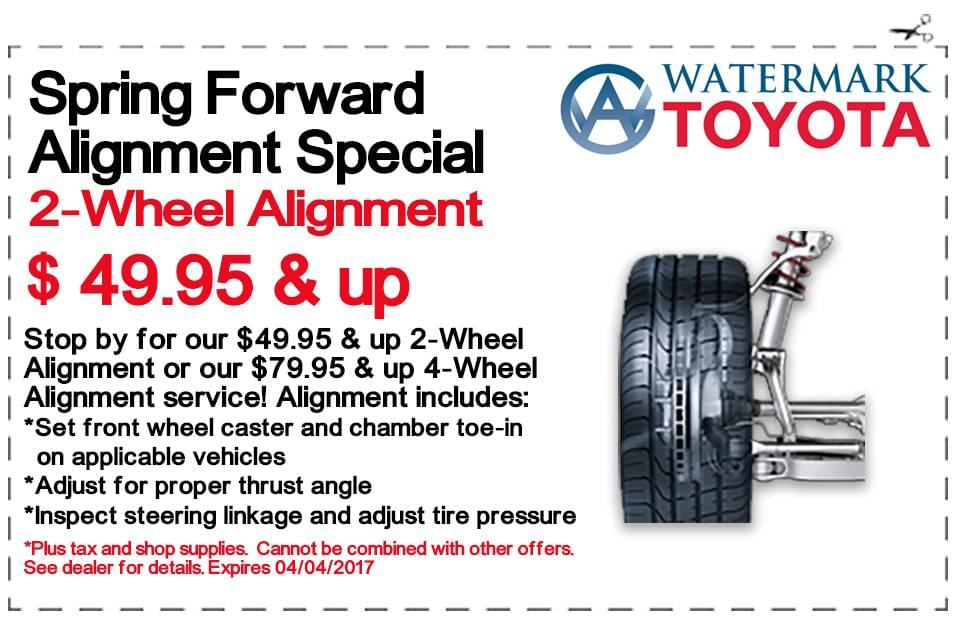 Auto Service Specials Madisonville Watermark Toyota