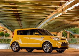 Kia Soul Solar yellow