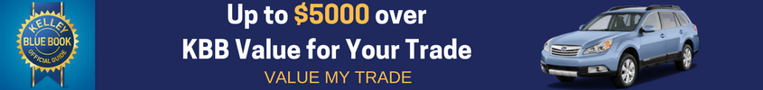 Up to $5000 over KBB Value for Your Trade (3)