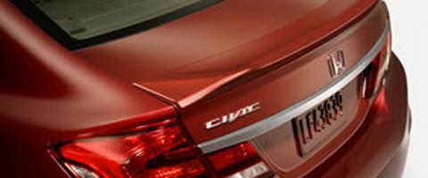 2015 Honda Civic decklid