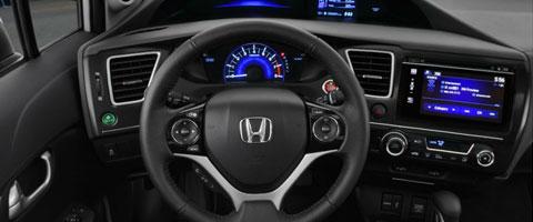 2015 Honda Civc intelligent Multi-Information Display