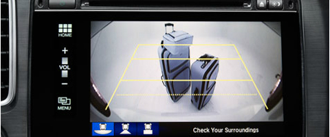 2015 Honda Civc rear view camera