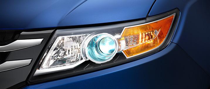 2016 Honda Odyssey Daytime-Running-Lights