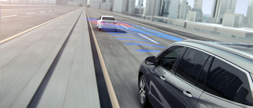 2016 Honda Odyssey Forward-Collision-Warning