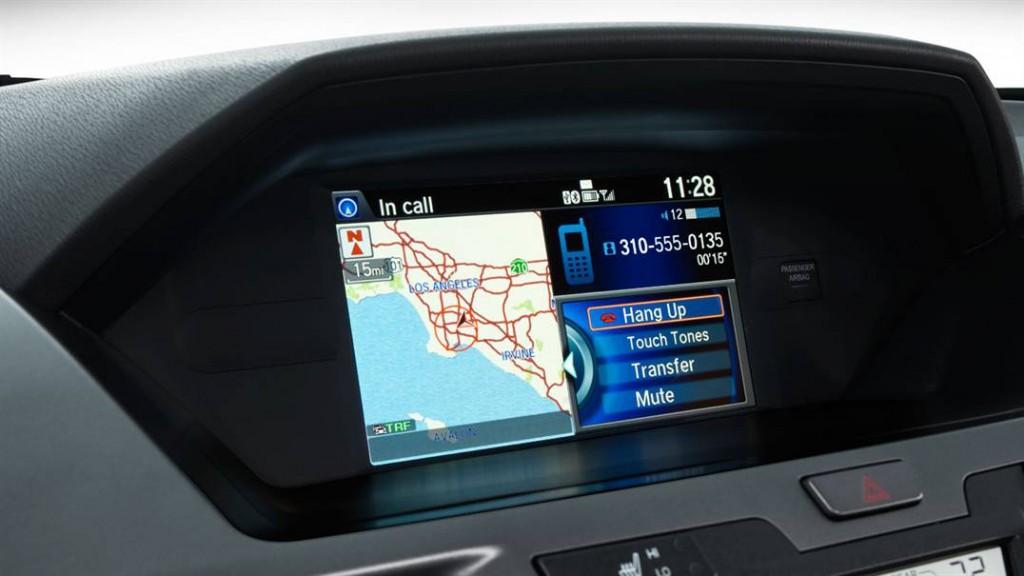 2016 Honda Odyssey Honda-Satellite-Linked-Navigation-System