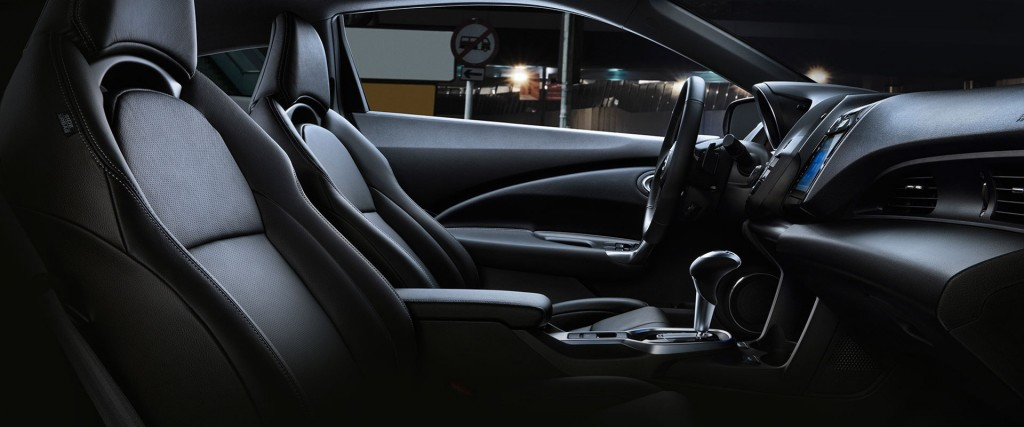 2016-Honda-CR-Z-leather-trimmed-seats