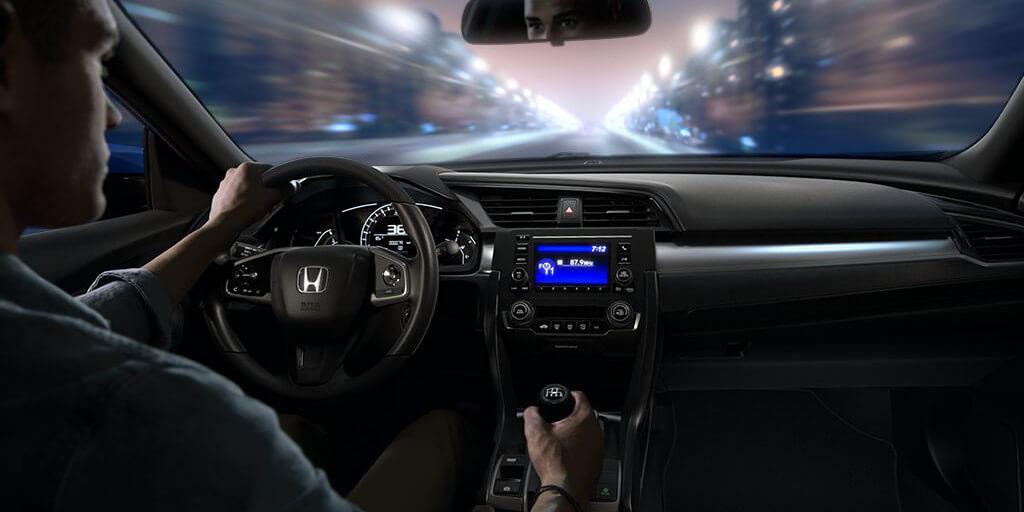 2016 Honda Civic Coupe 6-Speed Manual