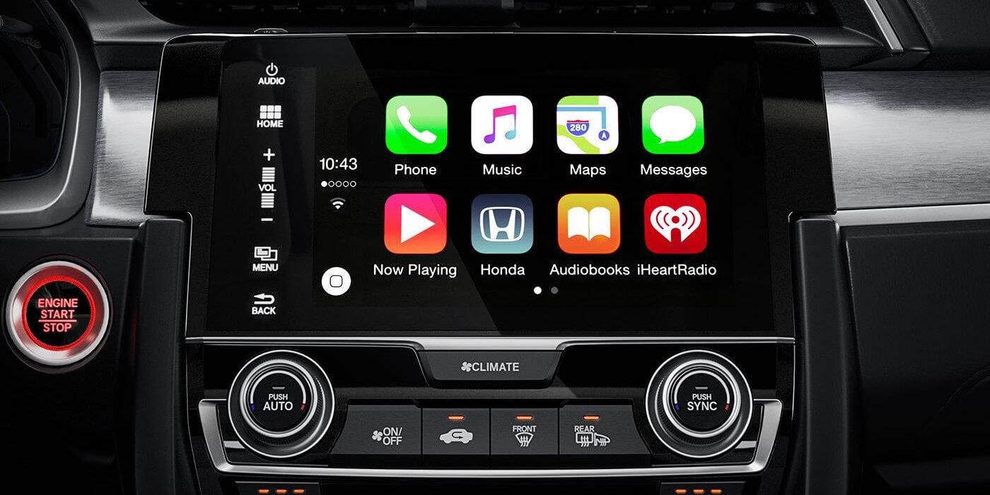 2016 Honda Civic Coupe Apple CarPlay